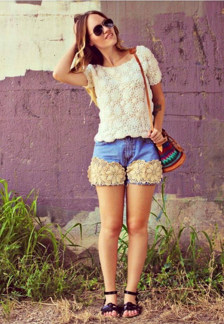 Adorable Ways to DIY Summer Shorts