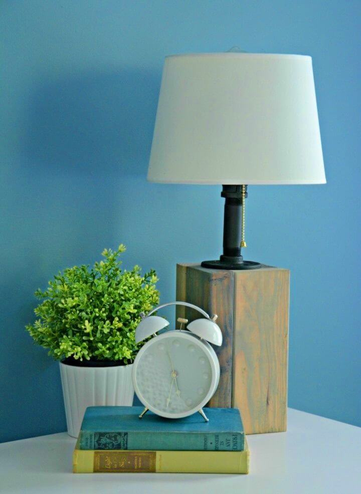 Adorable DIY Lamp for Home Office Lights