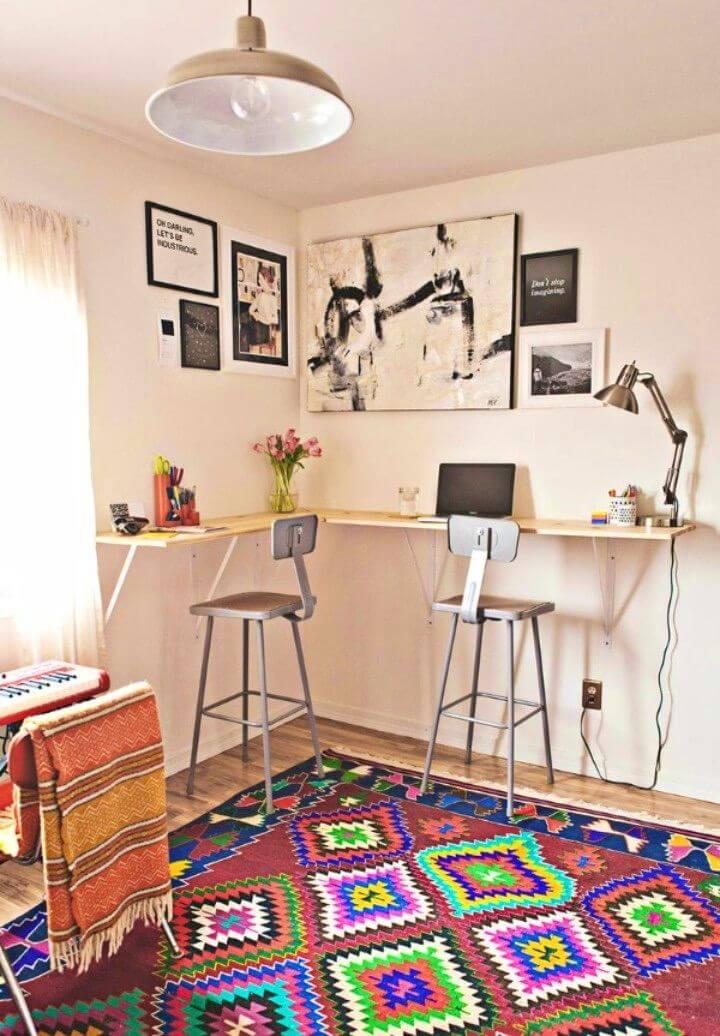 Adorable DIY Standing Desk