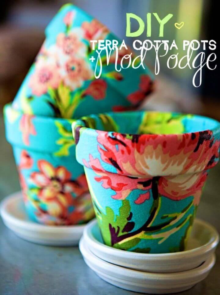 Adorable DIY Terra Cotta Pots