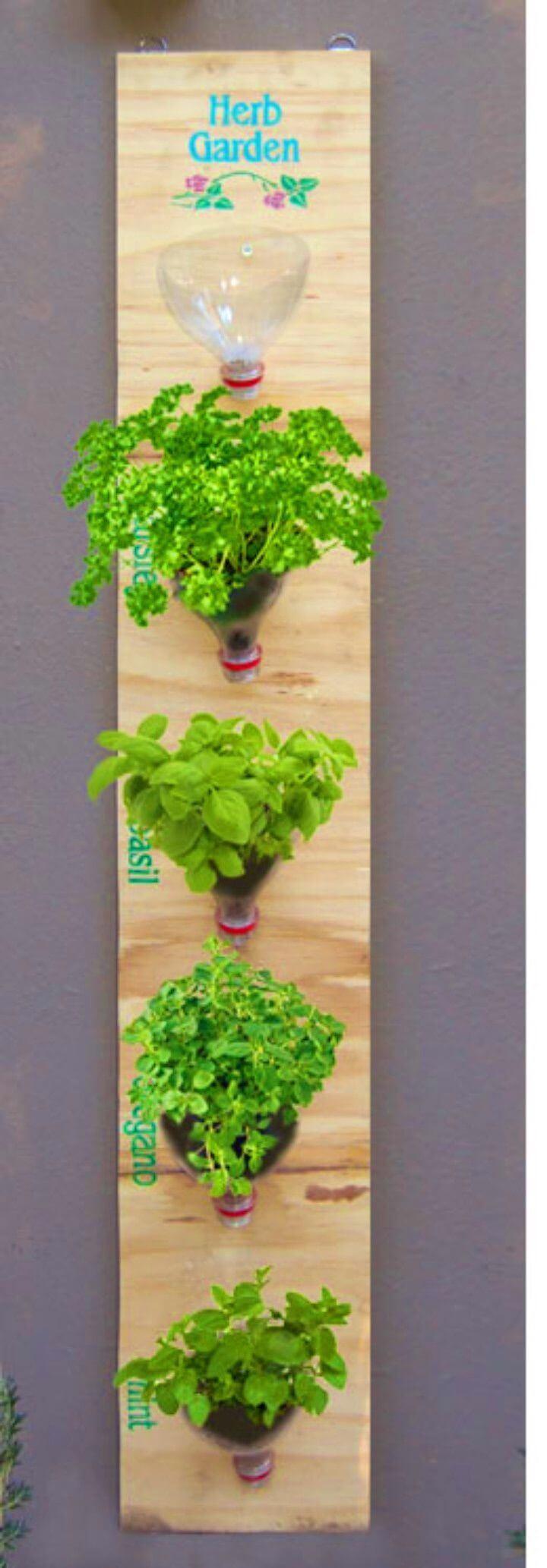 Amazing DIY Hanging Herb Garden