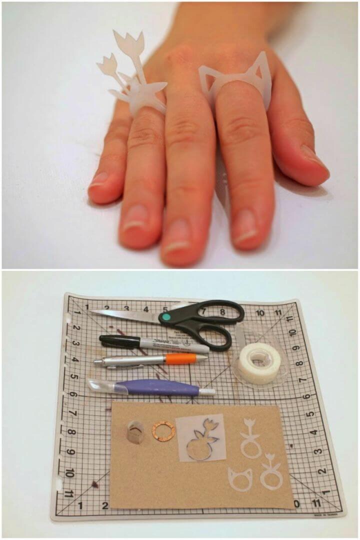 Amazing DIY Milk Jug Rings