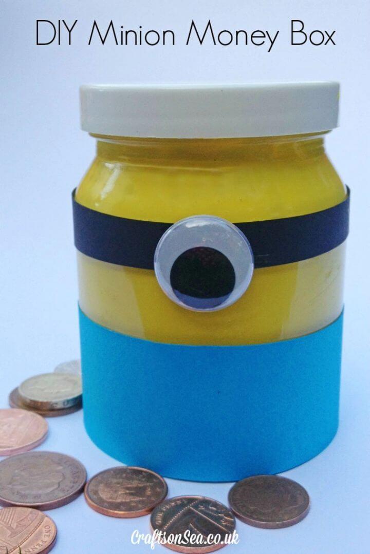 Amazing DIY Minion Money Box