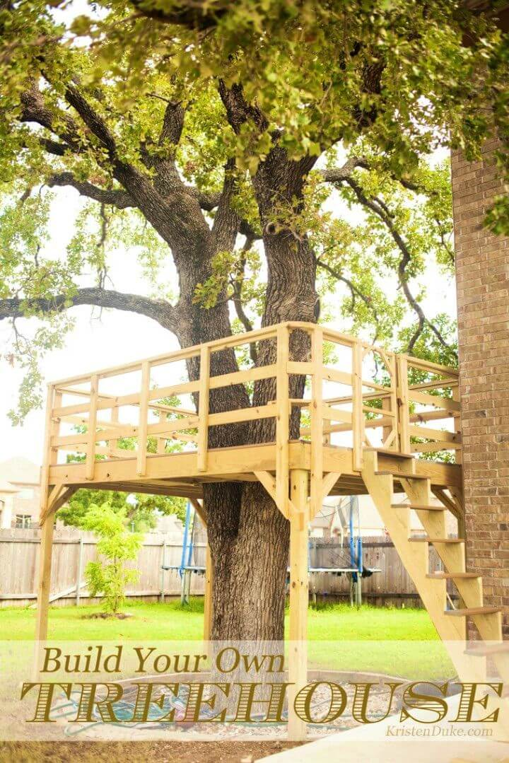 Amazing DIY Treehouse