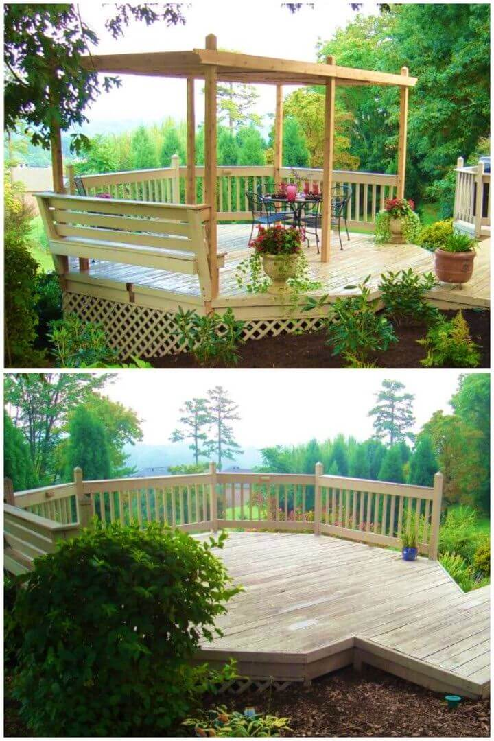 Awesome DIY Backyard Pergola