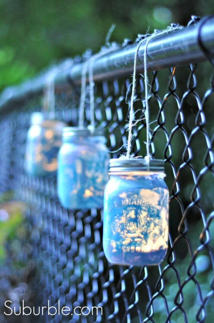 Awesome DIY Mason Jar Lanterns