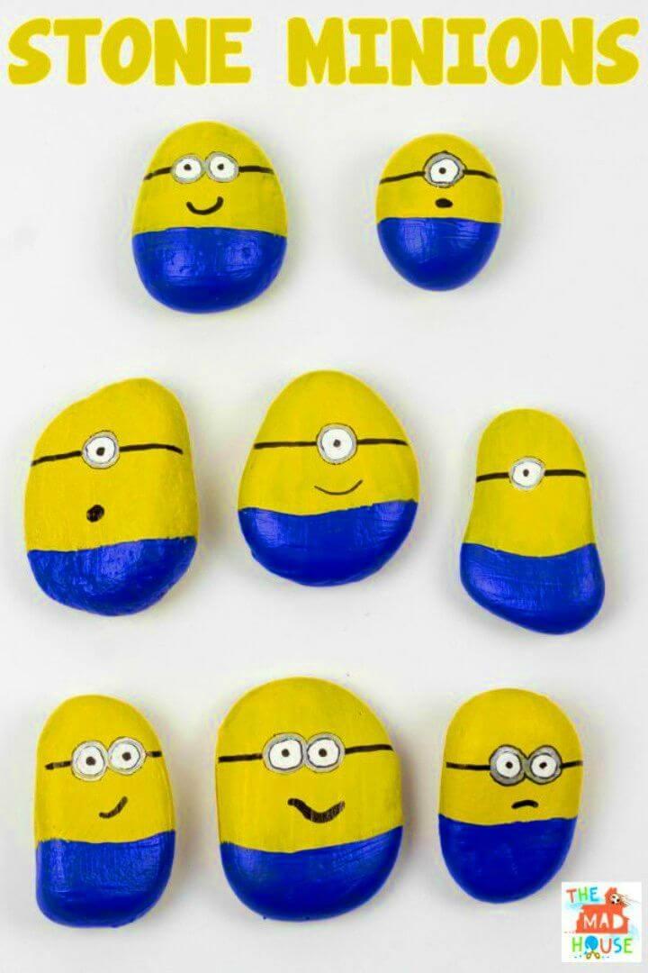 Awesome DIY Minion Stones