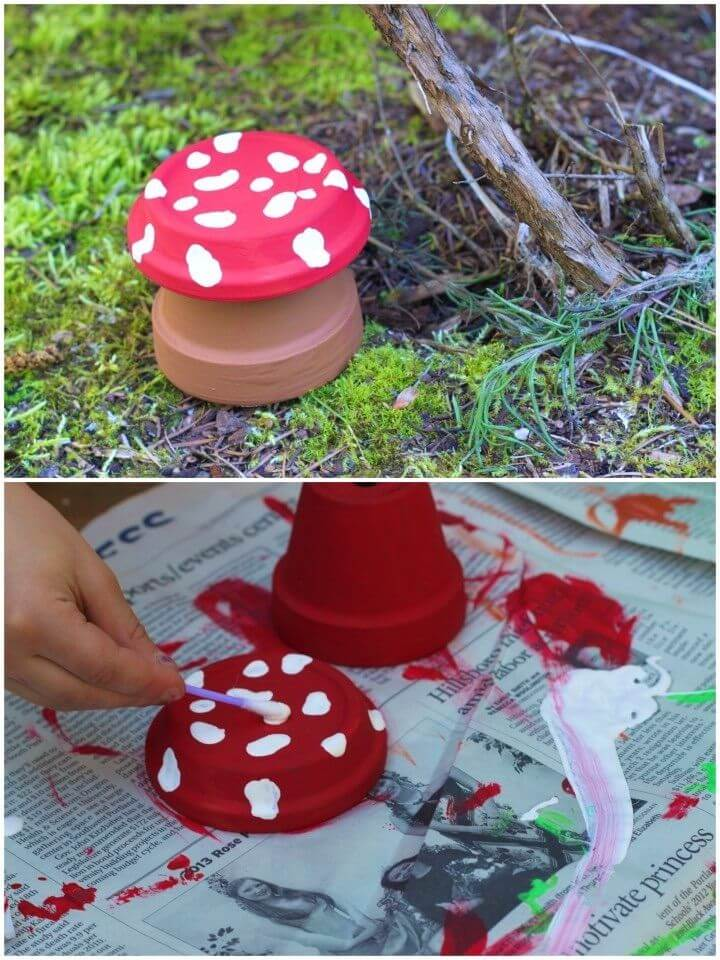 Awesome DIY Painted Flower PotsS