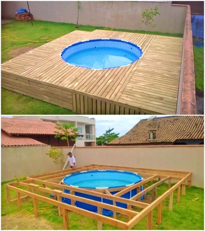Awesome DIY Swimming Pool