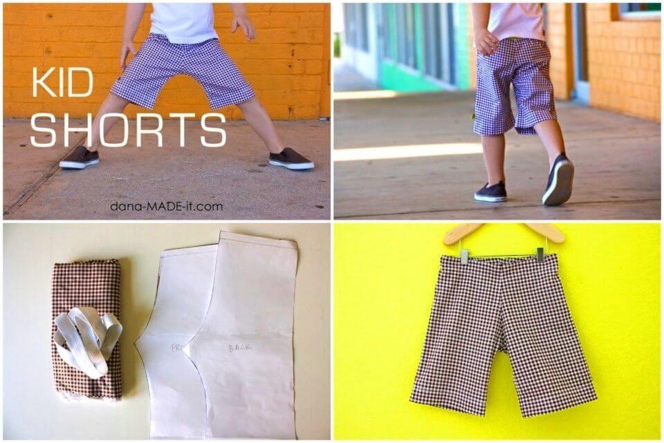 Beautiful DIY Kid Shorts Birthday Gifts