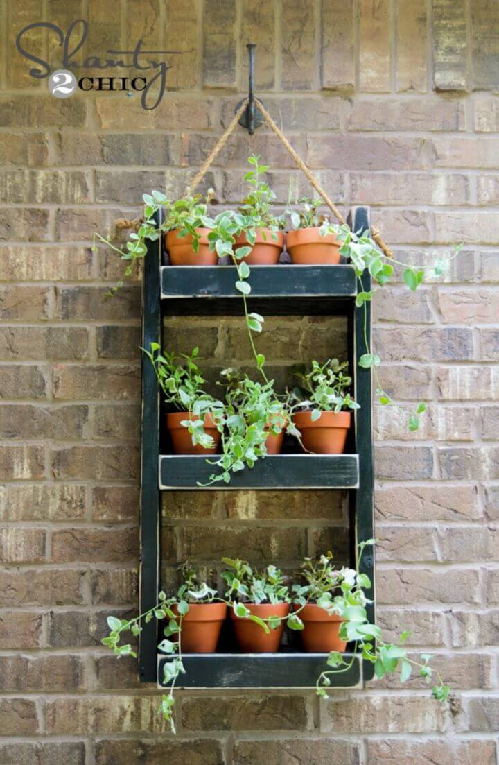 Build Wood Planter For The Wall