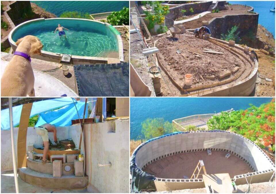 Build Your Own Concrete Swimming Pool