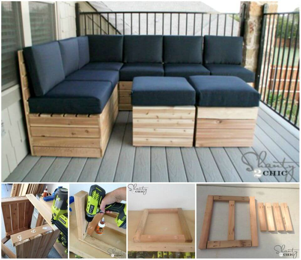 Build Your Own Modular Outdoor Seating