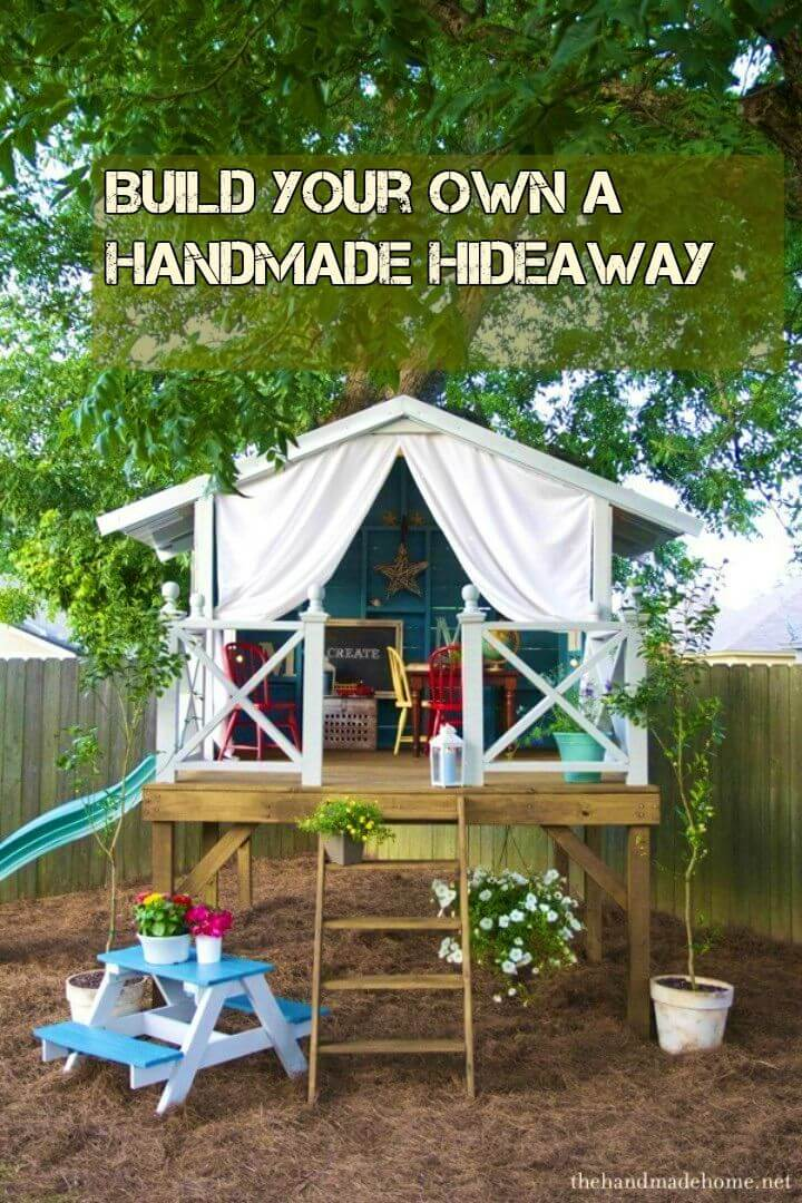 Build Your Own a Handmade Hideaway