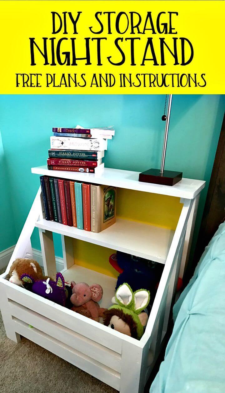 Build a Bookshelf Nightstand