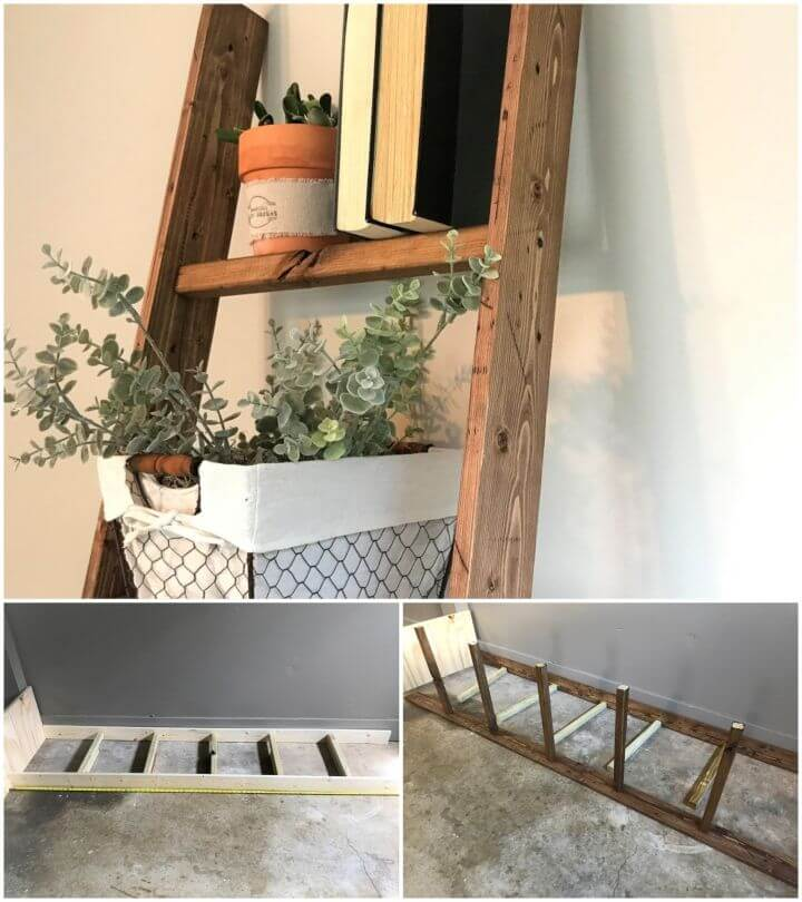 Build a Ladder To Organize Office Items