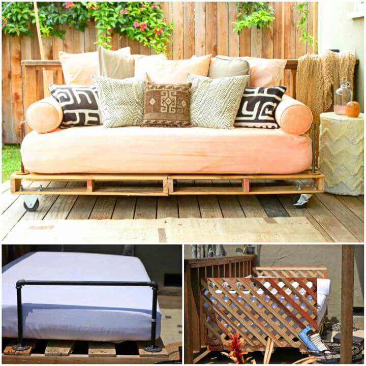 Build a Pallet Daybed