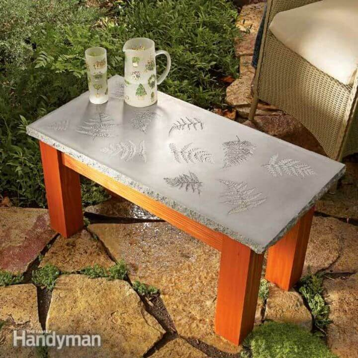 Build a Table With a Concrete Top