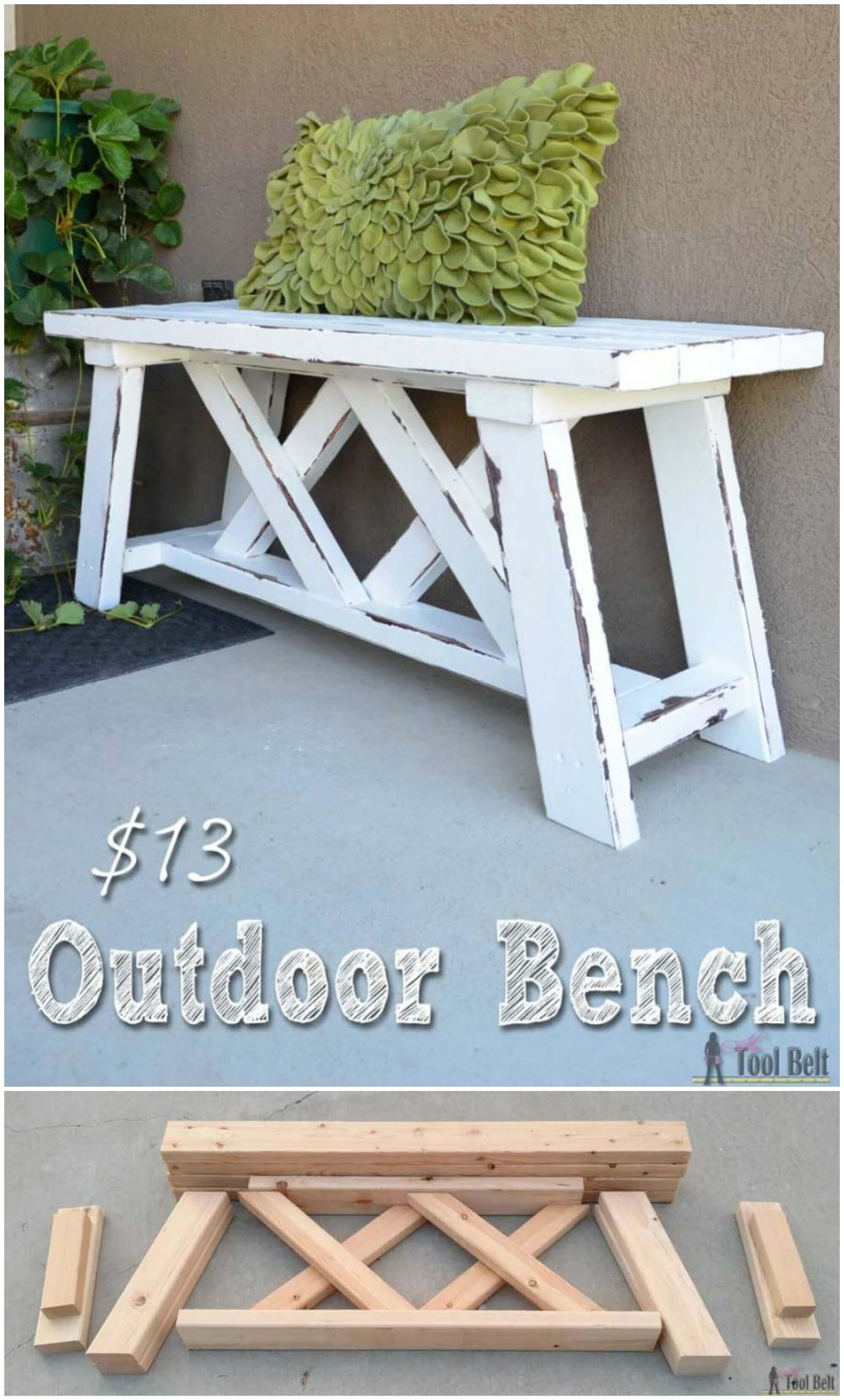 Build an Outdoor Bench