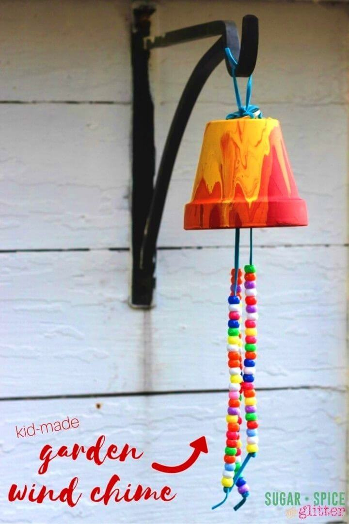 Create Garden Wind Chimes with Kids
