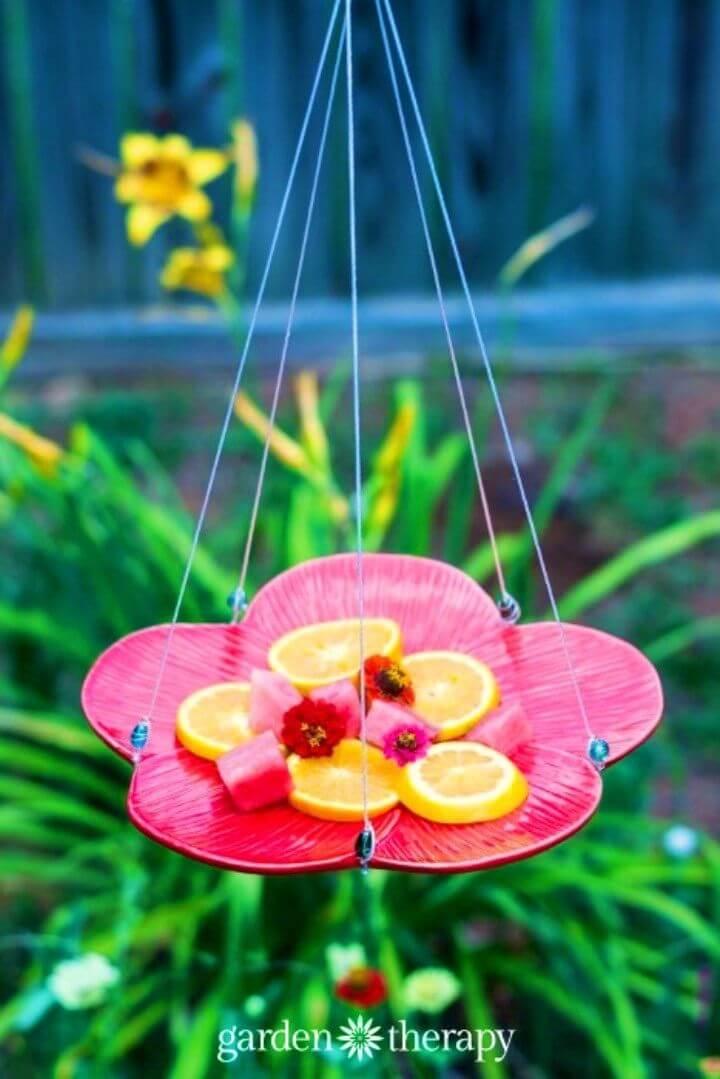 Create a Butterfly Feeder in Your Garden