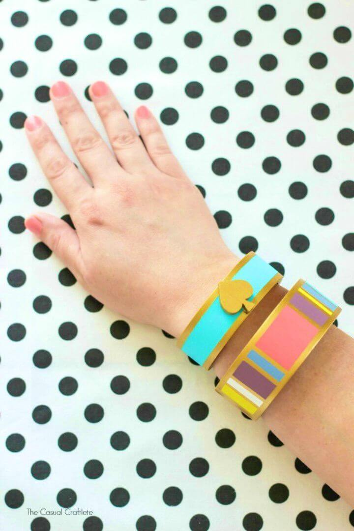Cute DIY Kate Spade Inspired Bangles for Adults