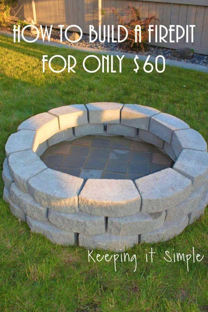 DIY Fire Pit in Your Backyard