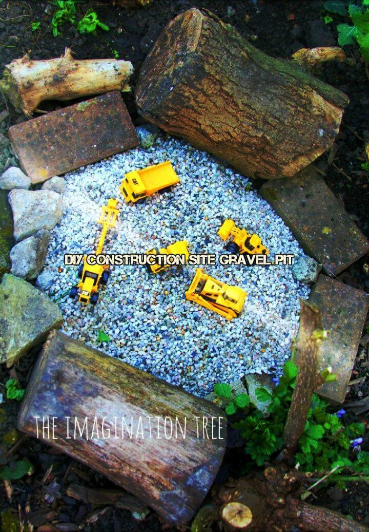 DIY Construction Site Gravel Pit