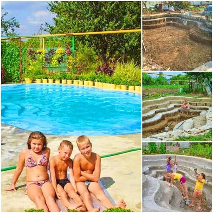 DIY Custom Built Swimming Pool