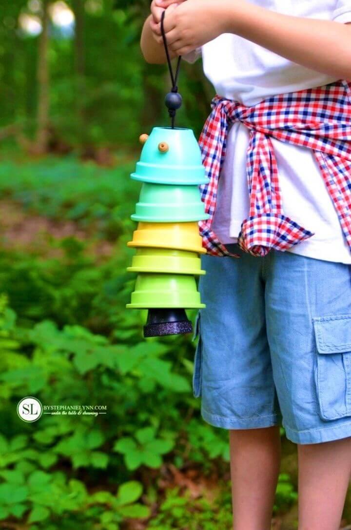 DIY Flower Pot Wind Chimes