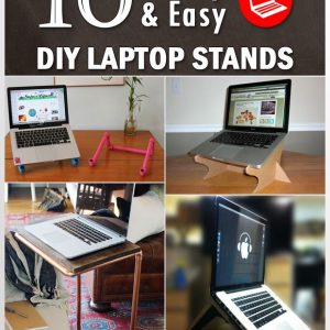 DIY Laptop Stand Ideas