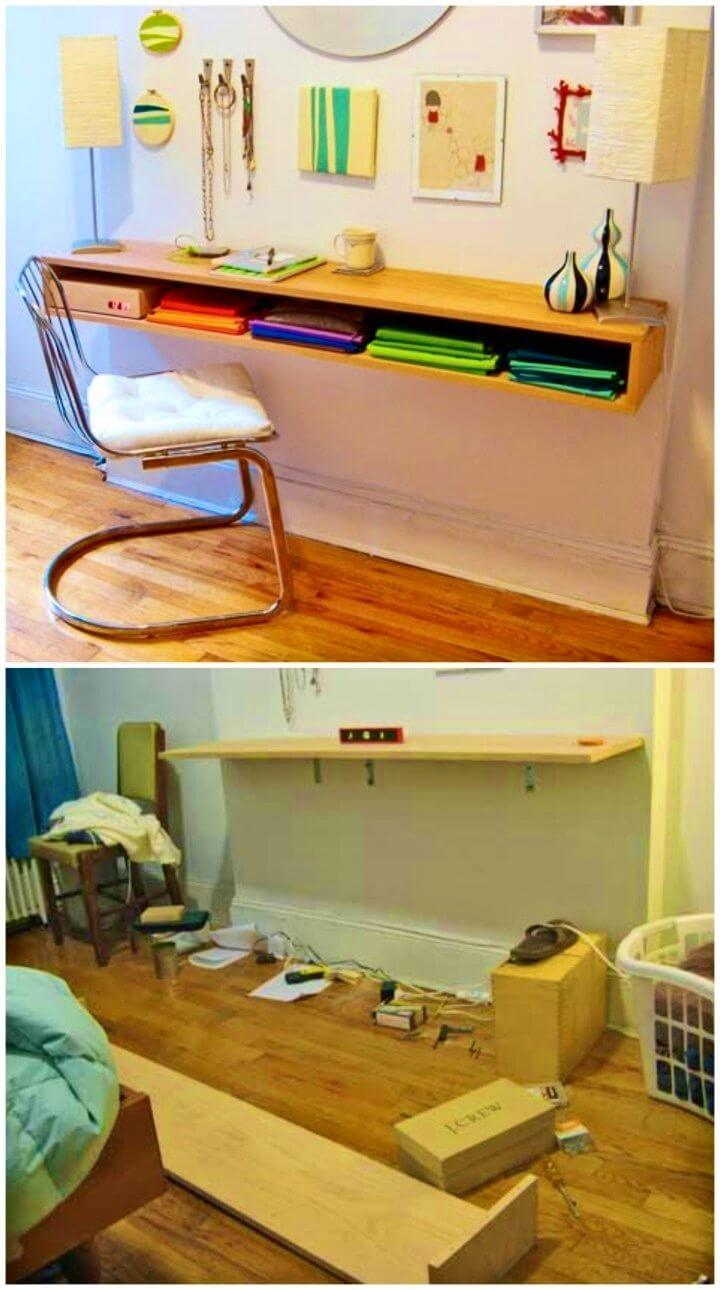 DIY Maggi's Minimalist Oak Desk