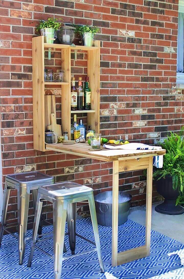 DIY Murphy Bar Backyard Project