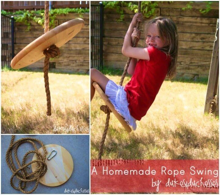 DIY Rope Swing for Your Backyard