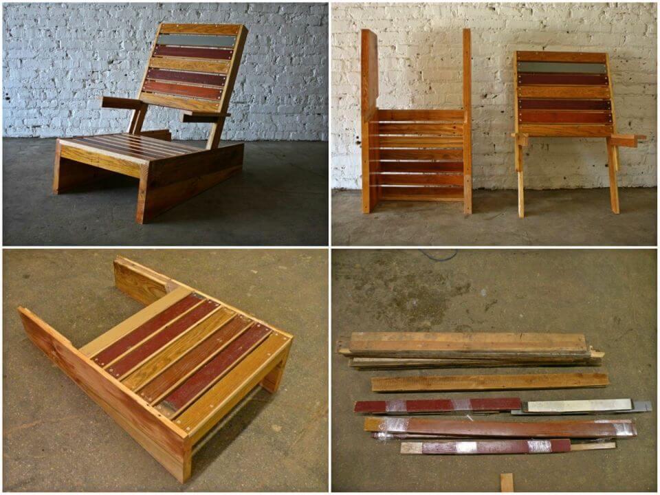 DIY Scrap Adirondack Chair for Garden