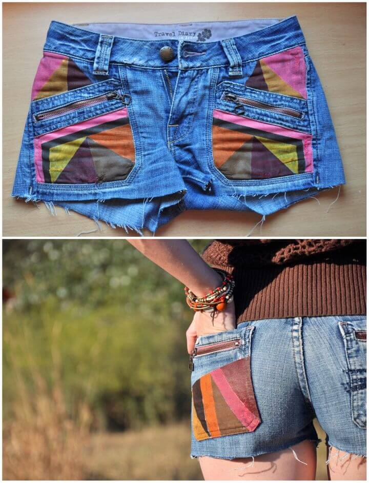 DIY Tribal Shorts in Minutes