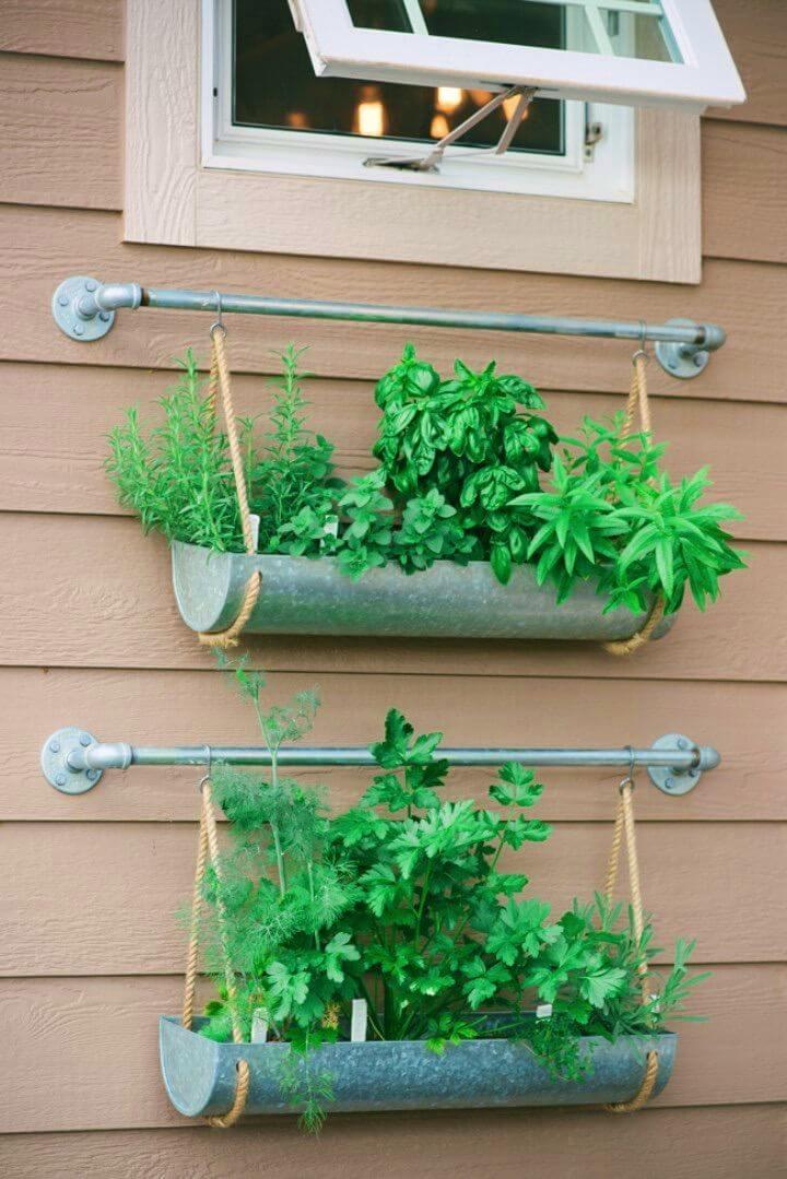 DIY Vertical Garden For Better Herbs