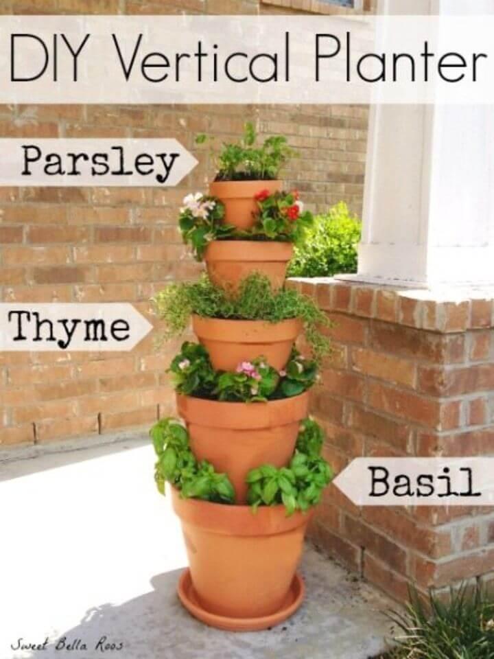 DIY Vertical Planter Perfect Garden Option