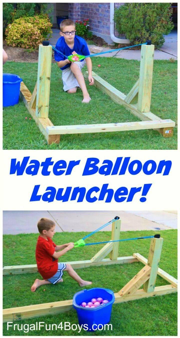 DIY Water Balloon Launcher