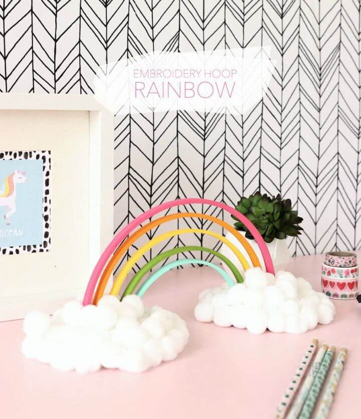 DIY Wooden Waldorf Rainbow for Adults