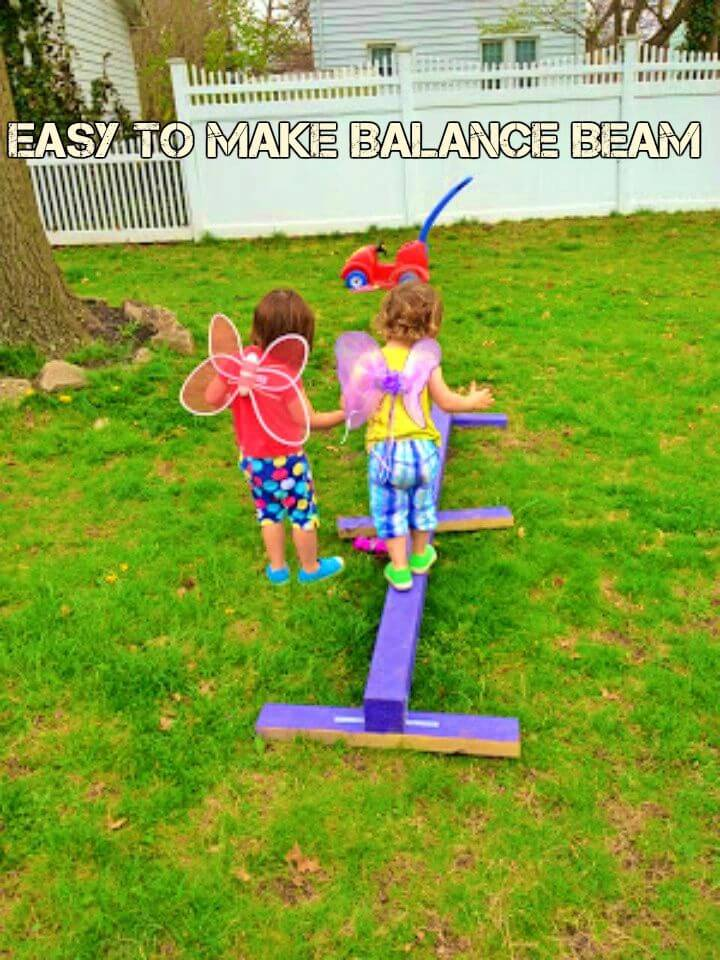Easy DIY Balance Beam