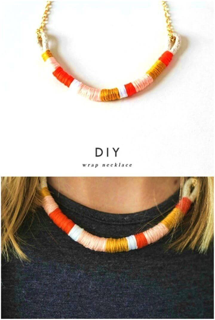 Easy DIY Color Block Necklace Ever, DIY, easy DIY, quick DIY, cheap DIY projects, DIY color blocks, color blocks, DIY color block necklace, color block technique, DIY jewelry, gift ideas, DIY necklace.