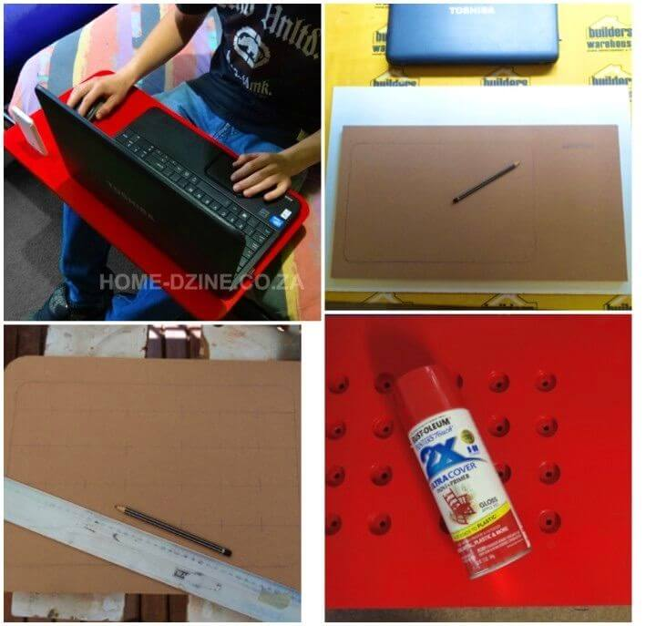 Easy DIY Laptop Stand Or Laptop Lap Tray