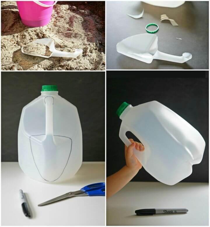 Easy DIY Milk Jug Shovel