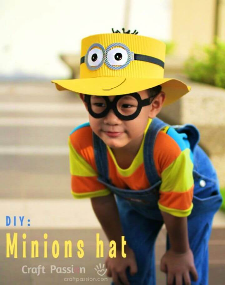 Easy DIY Minions Hat