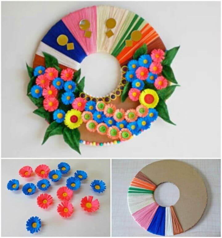 Easy DIY Paper Wall Craft