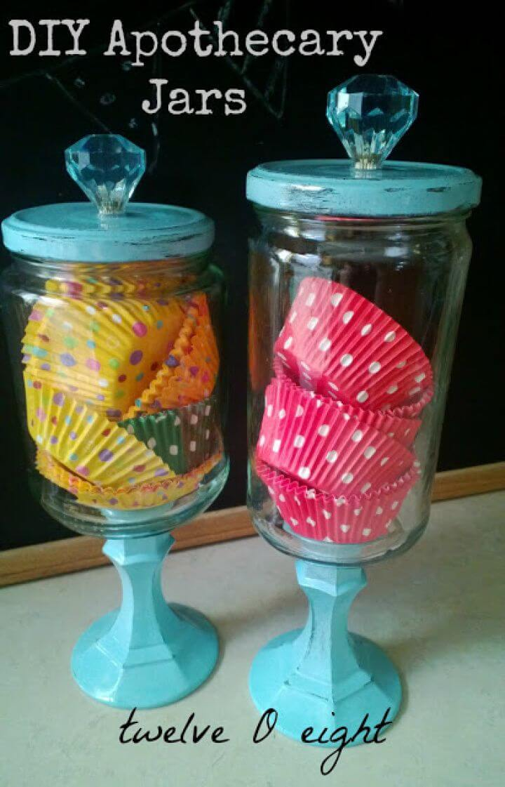 Easy to Make Apothecary Jars