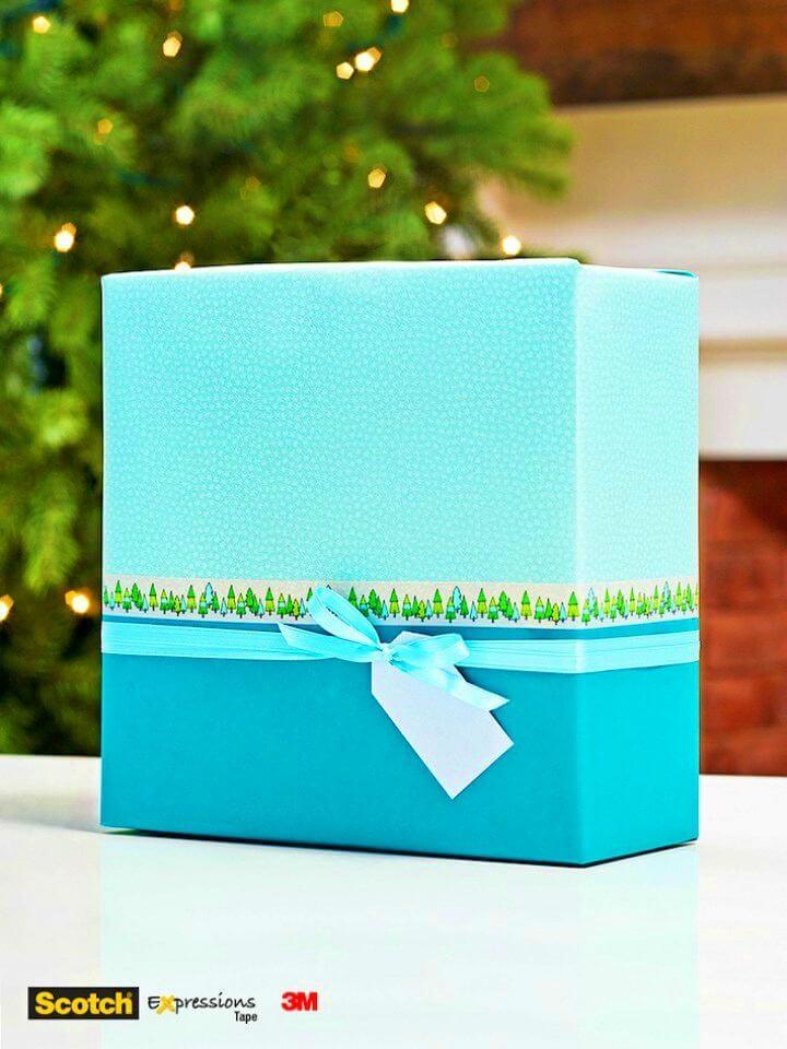 Easy to Make Colour-block Gift Wrapping, DIY, easy DIY, quick DIY, cheap DIY projects, DIY color blocks, color blocks, DIY color block gift wrapping, color block technique, DIY gift wrapping, gift ideas, DIY home decor, DIY decor.
