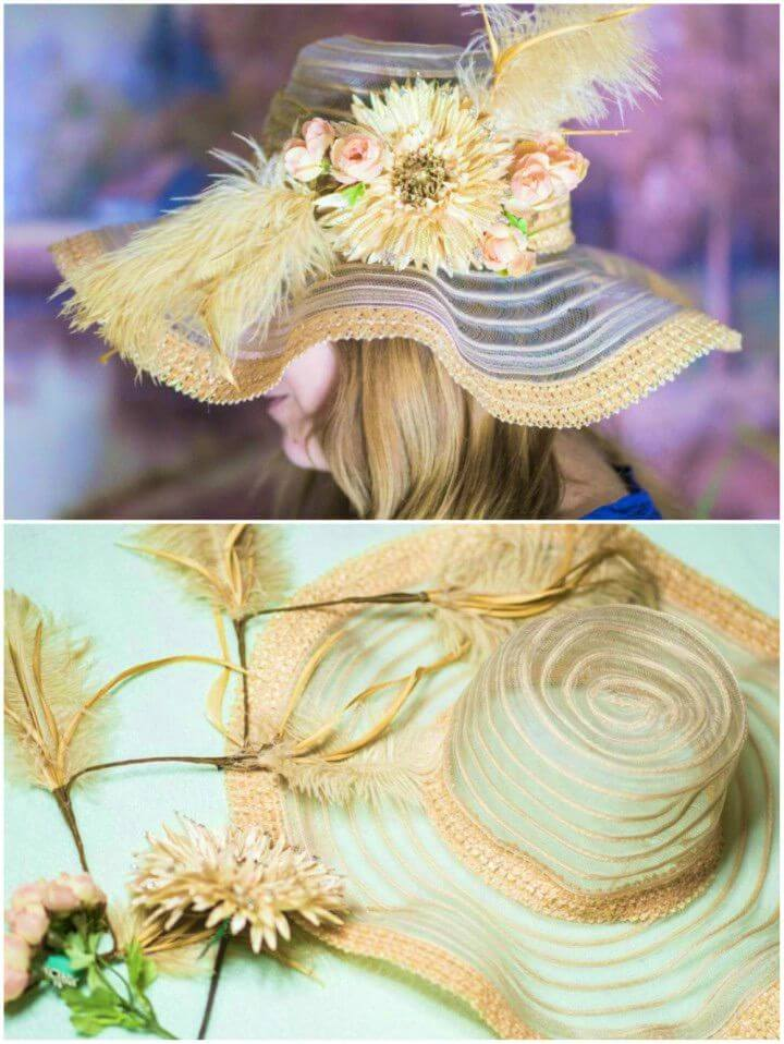 Easy to Make Derby Hat