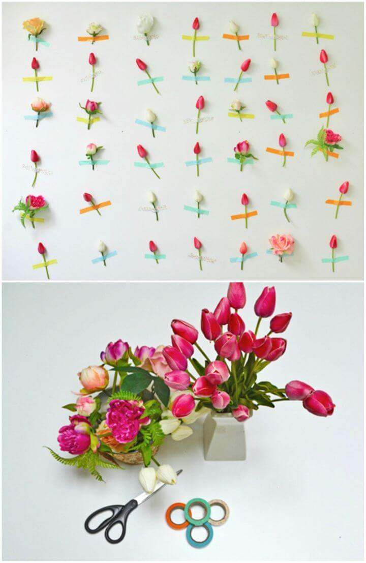 Easy to Make Flower Wall Decor